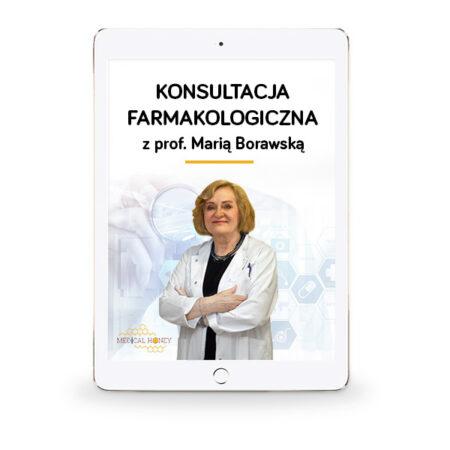 konsultacja farmakologiczna z porof maria borawska