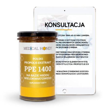 wielokwiatowy propolis i konsultacja dietetyczna