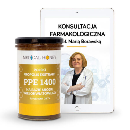 wielokwiatowy propolis konsultacja farmakologiczna maria borawska